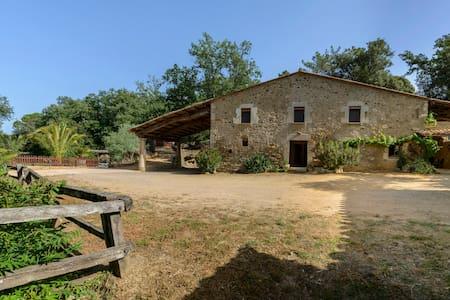 Bike  Rural Nature - Privacy -  MAS FONT - Girona.