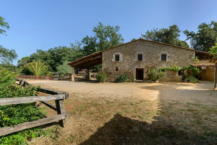 Bike  Rural Nature - Privacy -  MAS FONT - Girona.