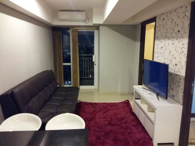 Cozy apartment with city view - East Jakarta - Leilighet