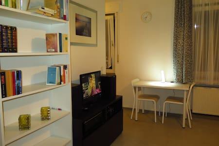 Studio apartment - within 28 minutes to KölnMesse - Leverkusen - Leilighet