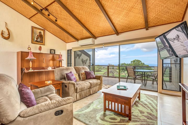 Stunning Ocean View with all the comforts of home - Waikoloa Village - Osakehuoneisto
