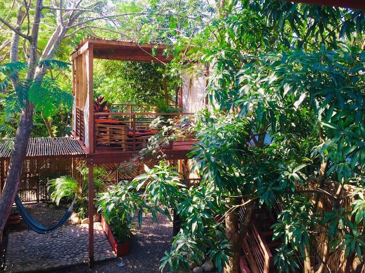 Habitación privada en hermosa cabaña