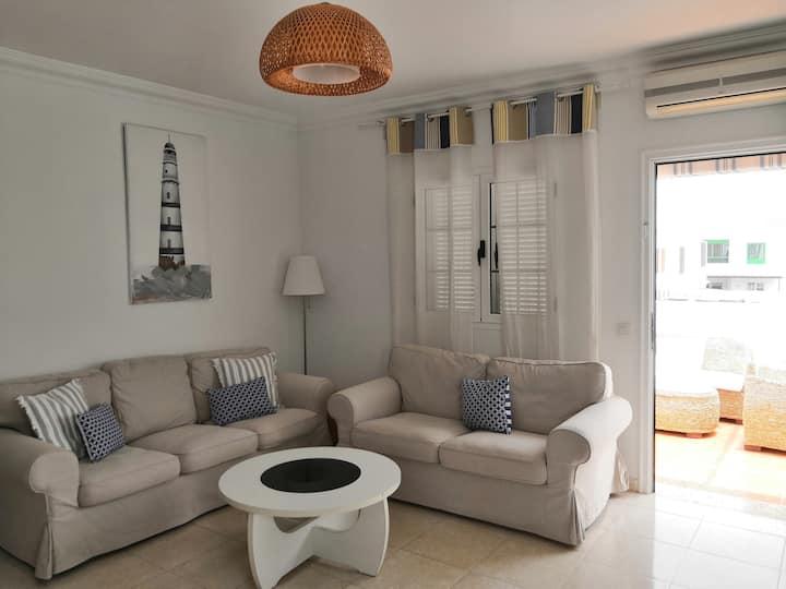 Bonito apartamento cerca de playa!