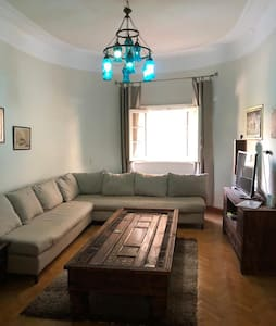 High Ceiling 2br Garden City. 1 year 1 month free