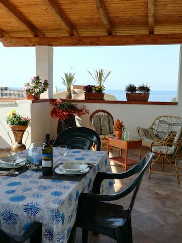 Wonderful house with seaview and garden - Tropea - Huis