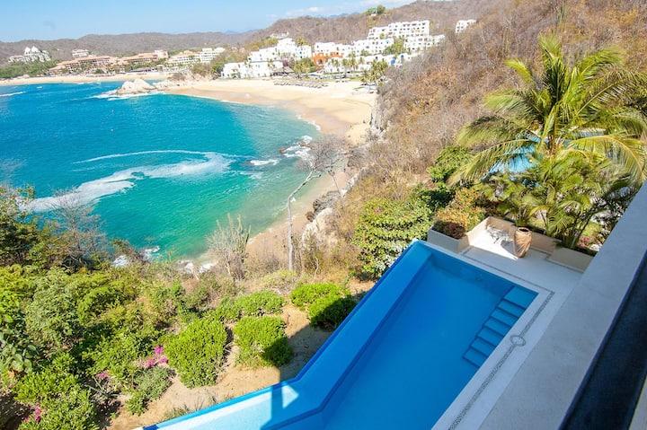 Luxury Oceanfront Condo Overlooking Resort District | Walk to Beach