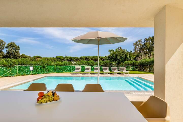 Villa d ' Ogliastra 8 posti piscina privata V4