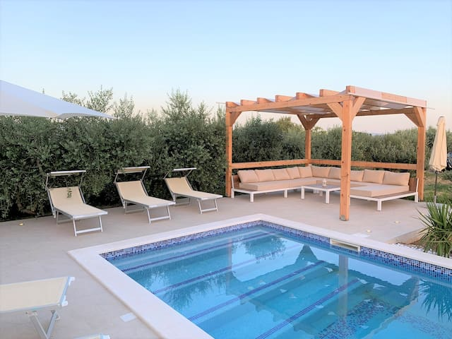 Holiday house Trogir NATURA with swimming pool