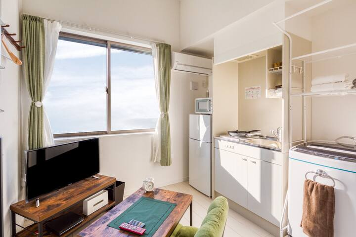 105- Easy Access to Airport! Cozy Japanese Modern