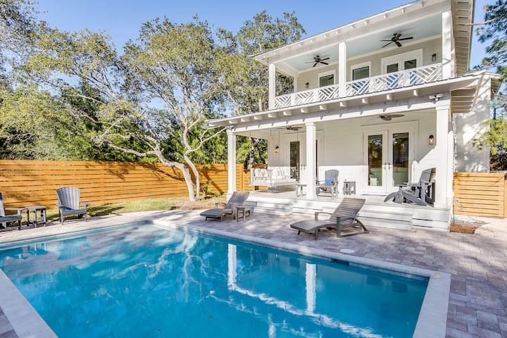 All of 2020 Rate Reduced! New Private Pool! Bikes! 2,828 SqFt! Beach! - Coastal Cottage at Seagrove