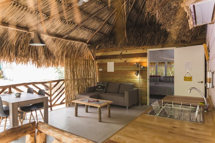 Wheelchair accessible eco-friendly palapa 'Kunuku'