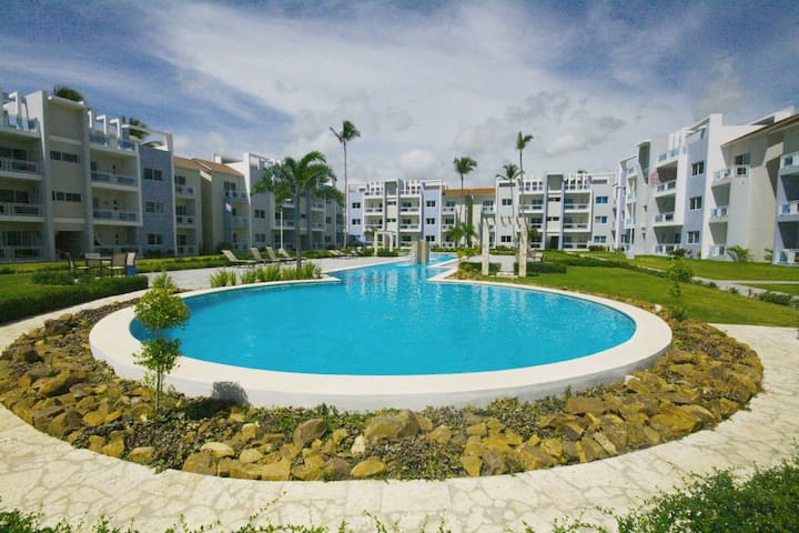 Apartment with walking  distance from the beach - Bávaro - Apartamento
