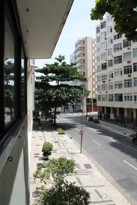 Vista da sala/Window view