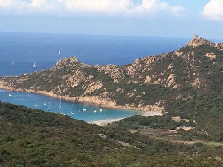 Roccapina : Nid douillet entre mer et maquis Corse