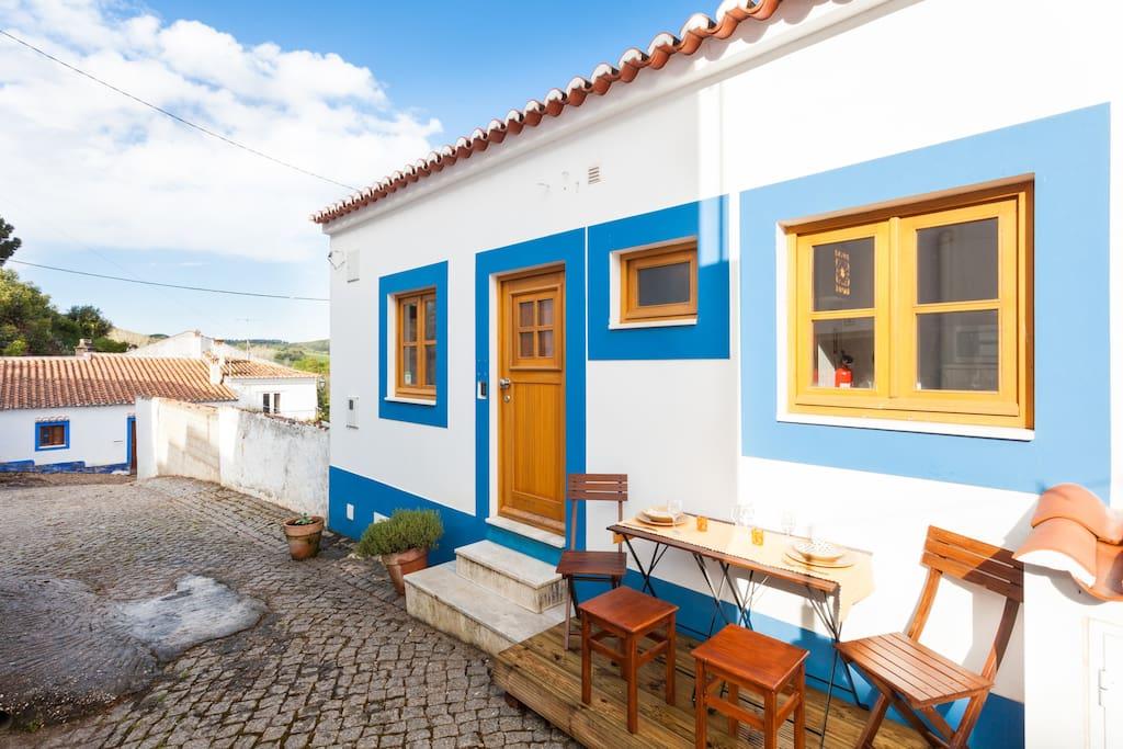 casa da amoreira ferienhaus h user zur miete in aljezur distrikt faro portugal. Black Bedroom Furniture Sets. Home Design Ideas