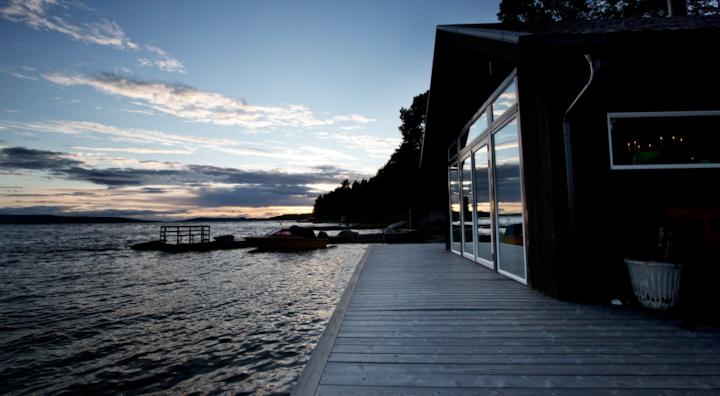 BOATHOUSE by Great Lake, Jämtland