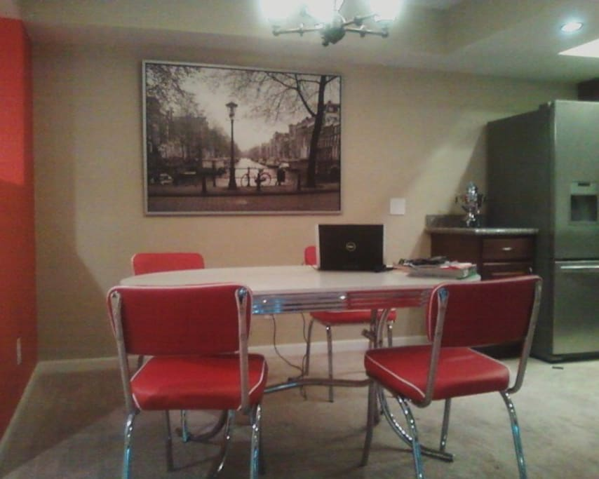 Dining / PC Area