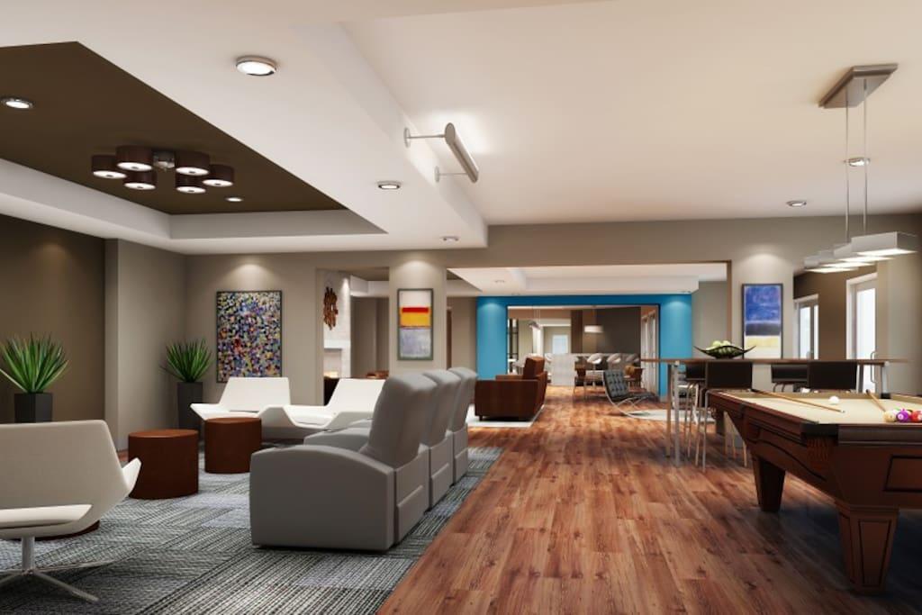 Common Room Area
