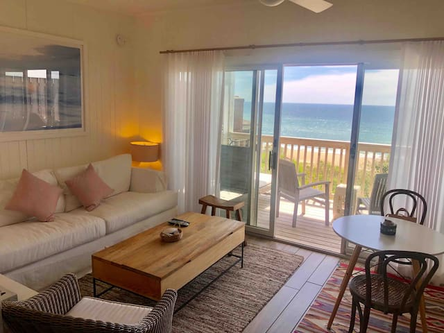 Renovated ocean front apartment