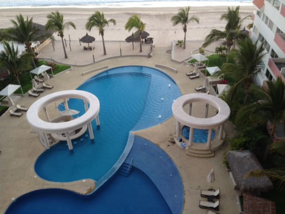 Vista desde el departamento/view from the balcony