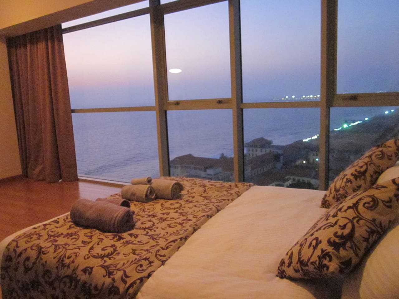 Bedroom 2 also with ocean and city skyline views!
