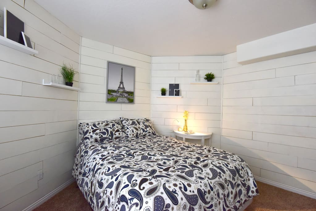 Your private room with a lock on the door.