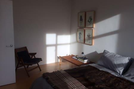 Self-contained 2 double bedroom studio