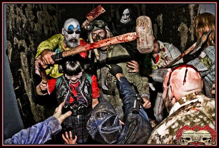In October, Silverwood turns into SCAREYWOOD ...ooooooh. This is fun if you like the Halloween adventure.