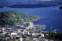 This is Coeur d'Alene! It's a wonderful place to live and visit.