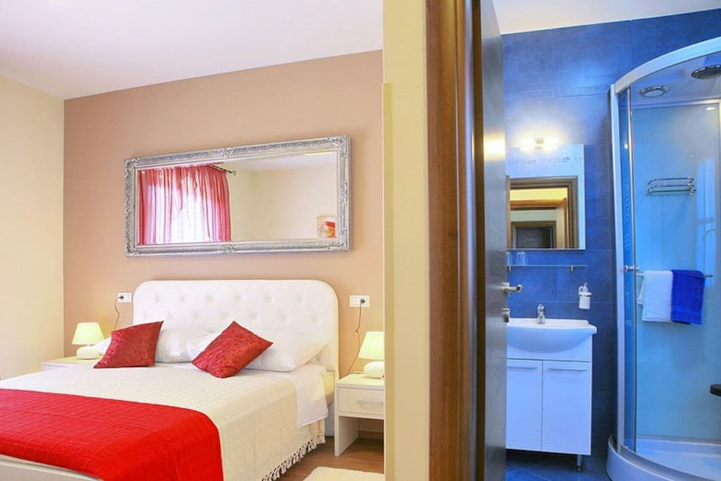 The bedroom with private bathroom