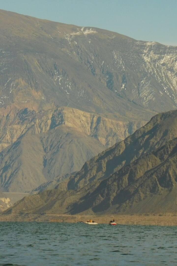 increibles vistas a Precordillera Andes