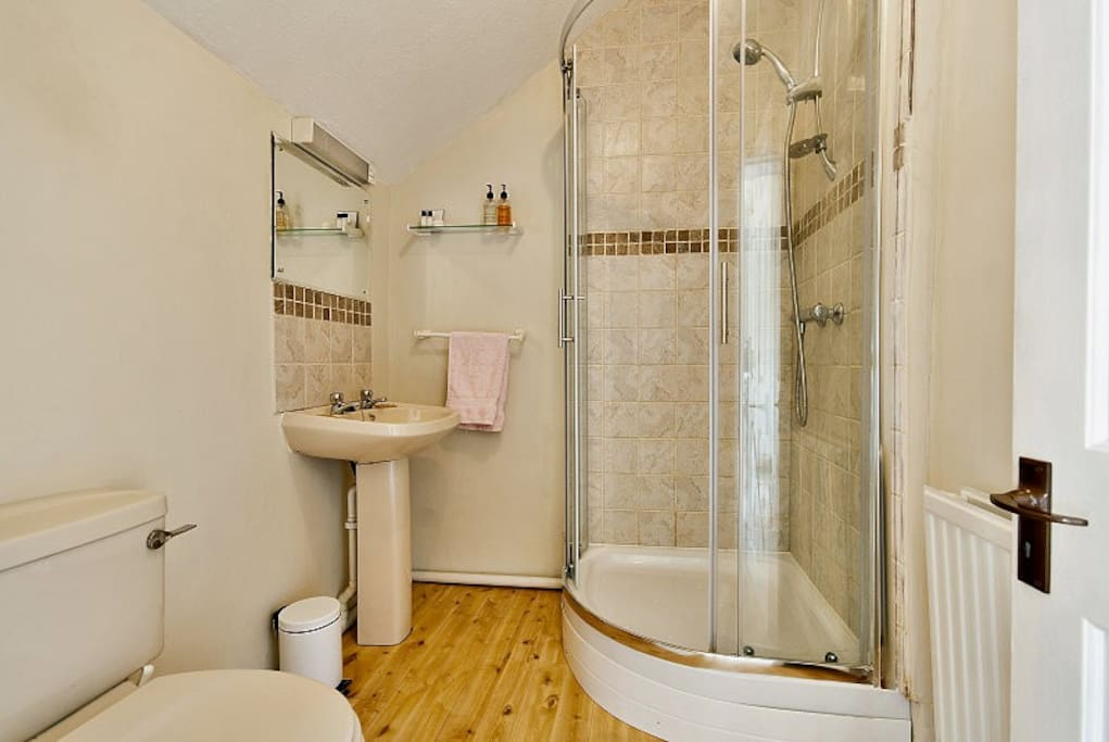 Four ensuite shower rooms, one private shower room.