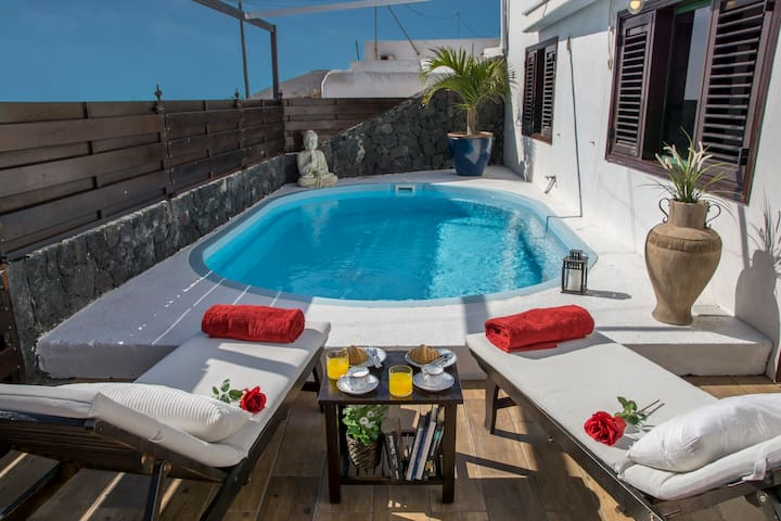 Finca la casita - private pool, jacuzzi and sauna