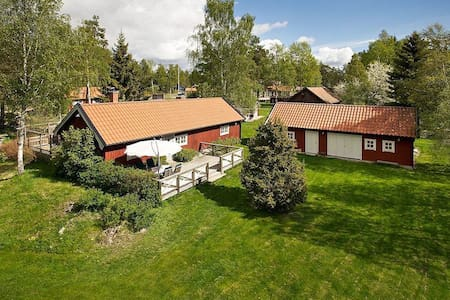 Country house close to nature - Haninge  - 통나무집