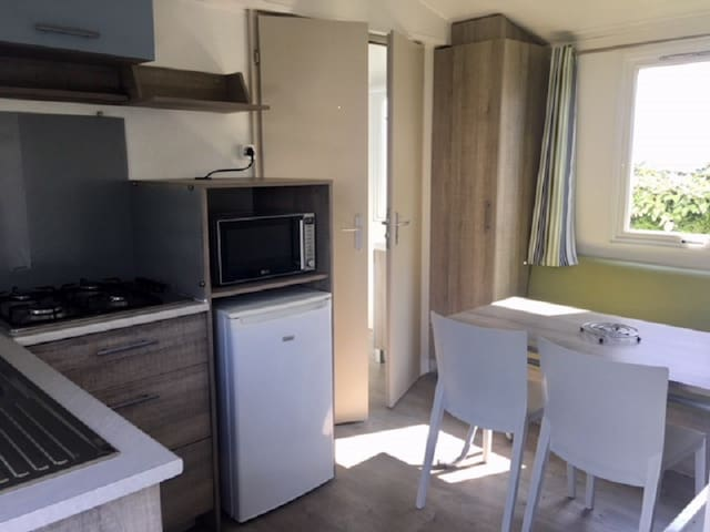 Mobil-home Loisirs 2 chambres 4 personnes