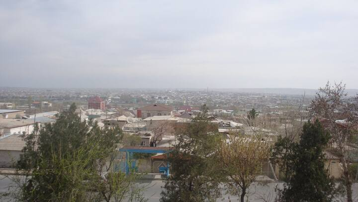 Appt with amazing view of Khujand