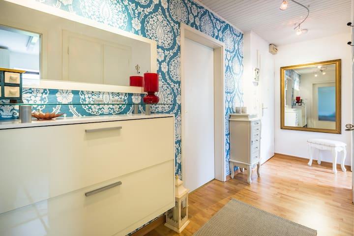 Helles gemütliches Zimmer mit grünem Ausblick - Norderstedt - Apartment
