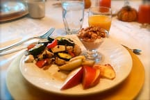 Our details also include an amazing breakfast.
