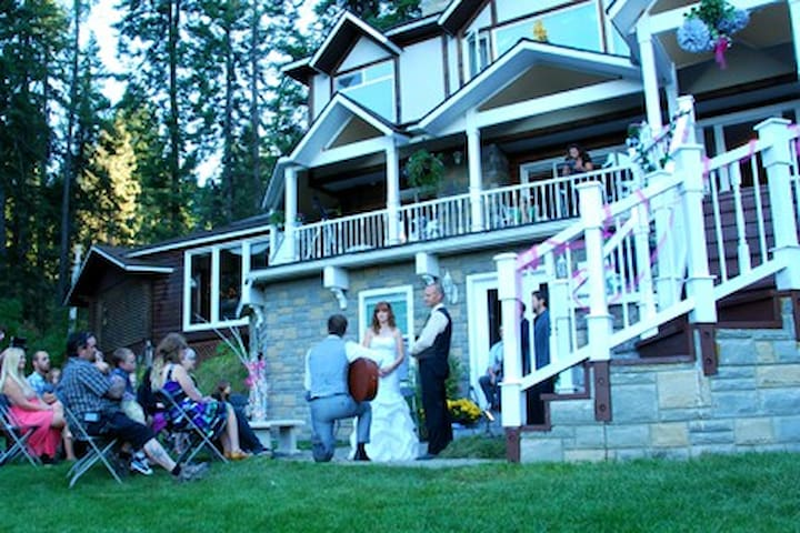 Our house has been used for a variety of events.