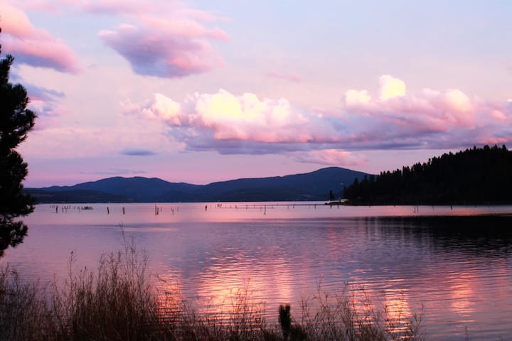 Lake Coeur d'Alene is the 5th most beautiful lake in the world according to National Geographic.