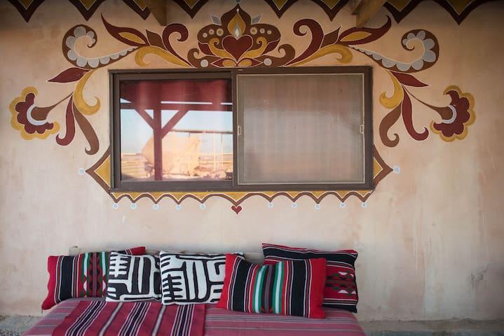 Tobiana in Ezuz desert lodging - Ezuz - Földház