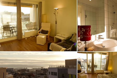 High standard, private bathroom, balcony and view! - Oslo