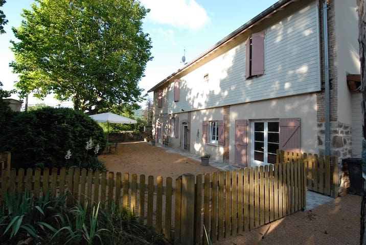 Self catering Beaujolais 4/10 people (32kms Lyon) - Saint-Romain-de-Popey - Casa de vacances