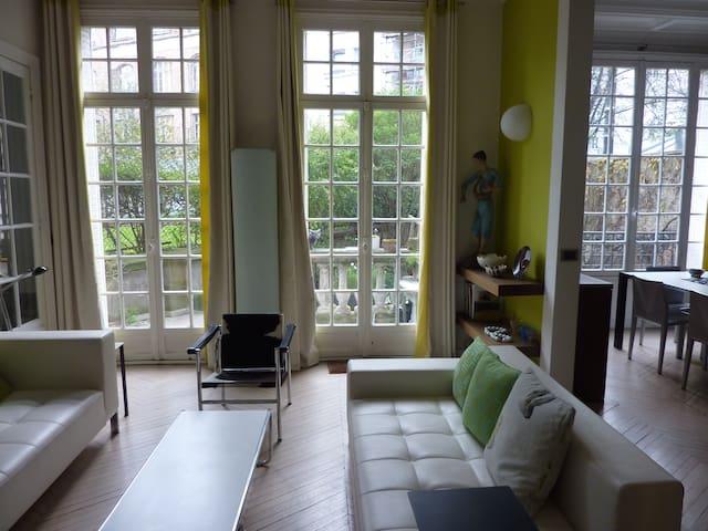 Appartement avec jardin privatif appartements louer for Appartement avec jardin a paris