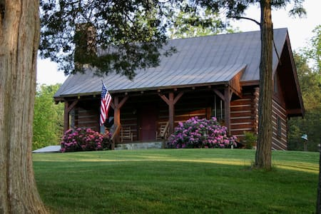 Virginia Log Cabin - Natural Bridge - Casa