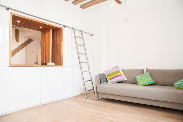 New cosy-chic studio, Bastille - Paris - Loft