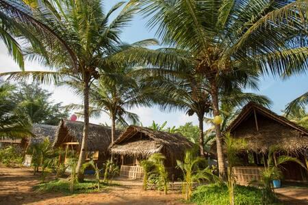 Natural Coco Huts @ Agonda Beach - Agonda