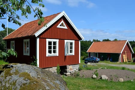 Cottage on idyllic island of Aspö