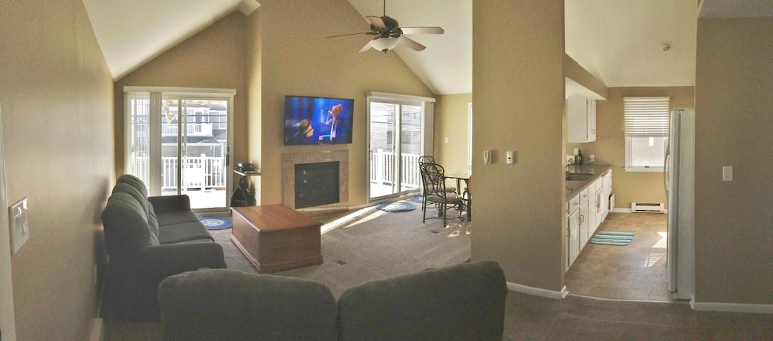 Cozy 2nd Floor Condo - Ocean City - Huoneisto