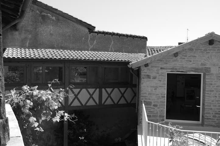 Character house in Beaujolais
